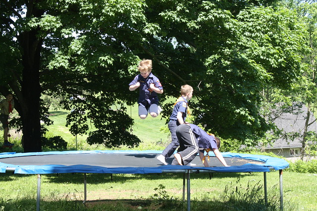 Jumping Scouts