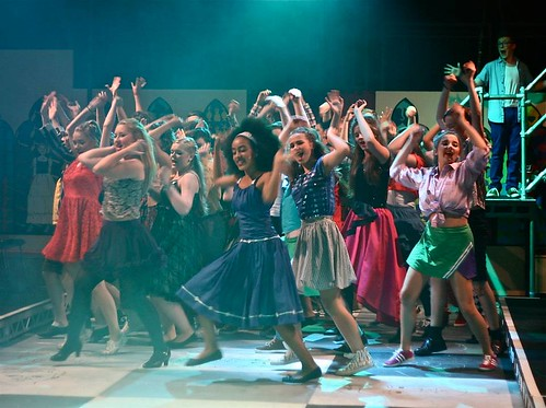 Forth Childrens Theatre production of Godspell. Photo © Mark Gorman