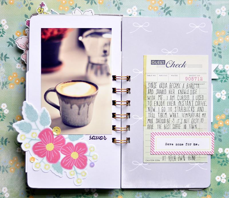 COFFEE  mini album Kasia Tomaszewska 8