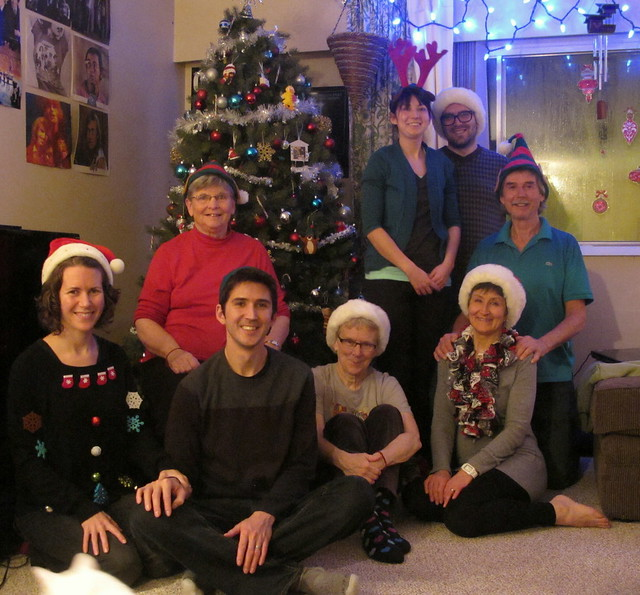 Christmas Family Photo Take #11