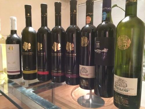 ワインたち@ボスニア・ヘルツェゴビナ ワイン試飲会