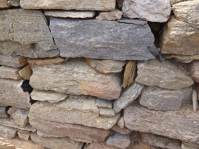 Greek stone walls