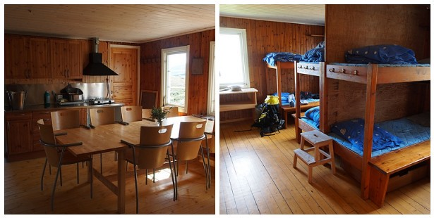 Inside Singi Cabin
