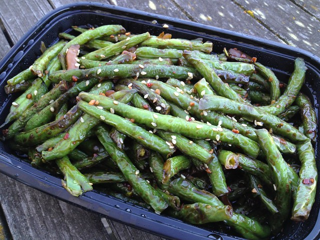 Dried sauteed string beans - Jasmine Tea House
