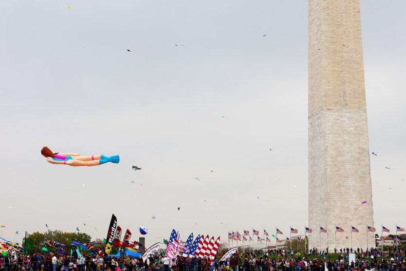 Kite Festival, Washington Monument.