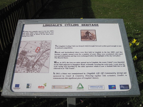 Lingdale Cycling Memorial