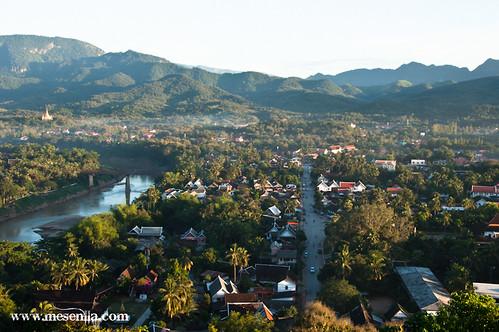 Vista general de Luang Prabang