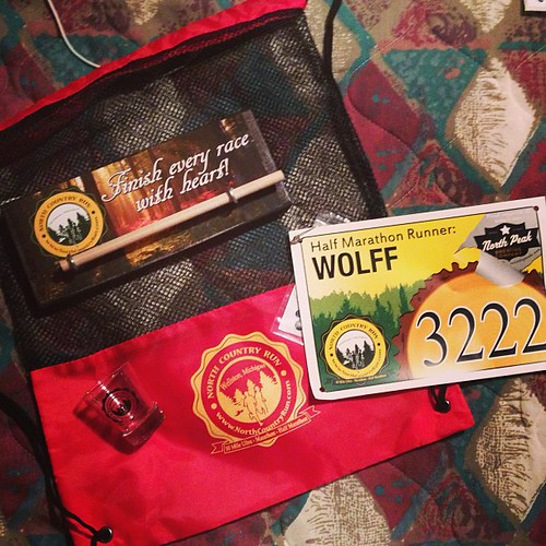 More swag from the North Country Trail Race #GingersInTheWoods