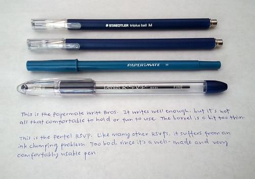 IMG_20130829_120630 - ballpoint pens