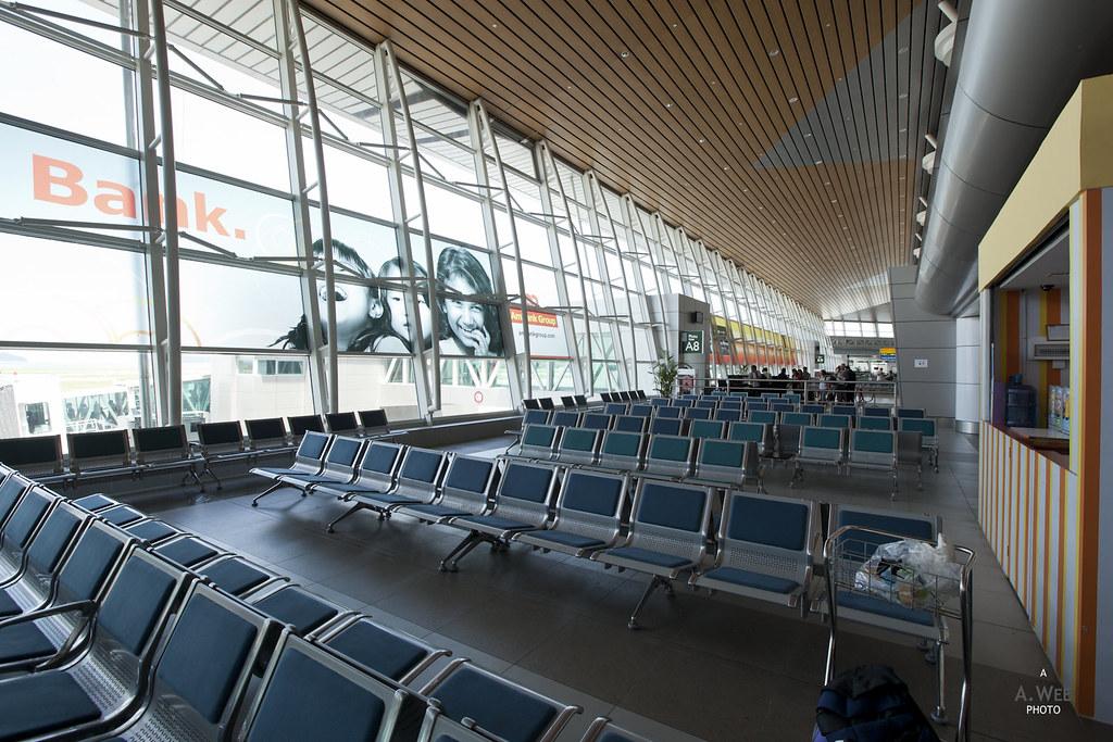 Boarding Gates at Kota Kinabalu Airport BKI