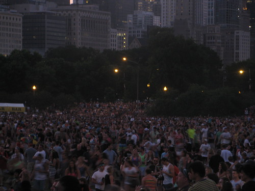 Crowd for Mumford & Sons