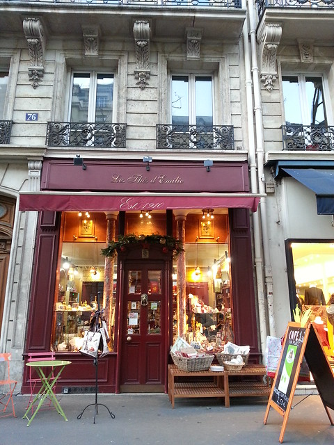 The oldest tea boutique in Paris
