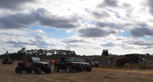 Medium Obstacle Course, Gone Country Jeep Weekend, Redneck Yacht Club, Punta Gorda, Fla., Jan. 25, 2014