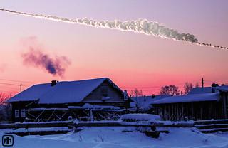 Chelyabinsk sky rendering
