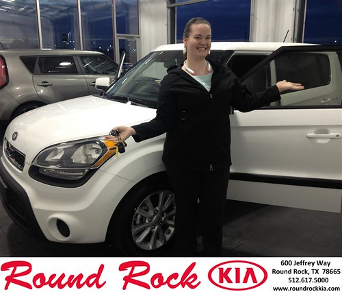 Thank you to Lindsie Harlan on your new 2013 #Kia #Soul from Bobby Nestler and everyone at Round Rock Kia! #NewCar by RoundRockKia