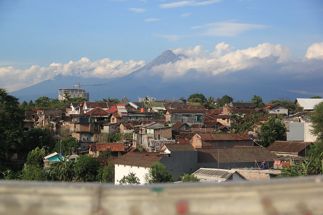 Merapi from Distance