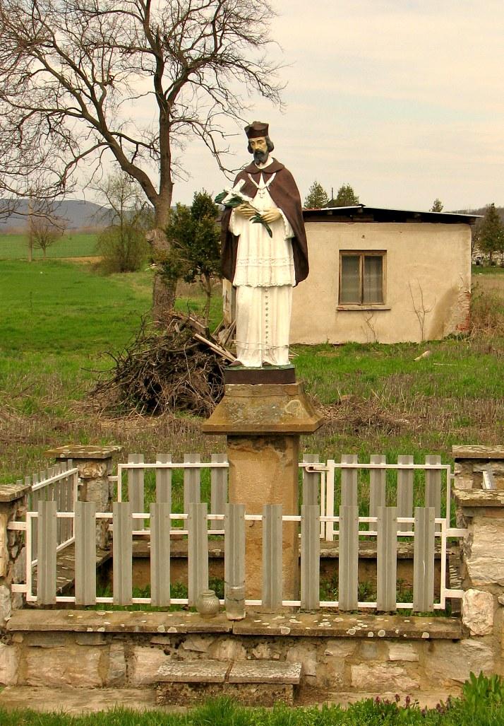 Socha sv. Jána Nepomuckého v Kosihách n. Ipľom