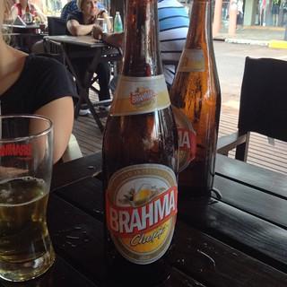 Brahma, big bottles!
