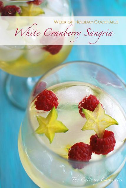 White Cranberry Sangria