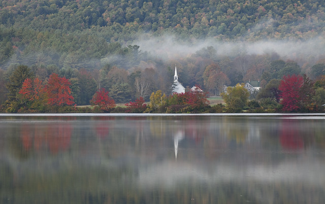 Autumn Reflection, Eaton, NH, 2013