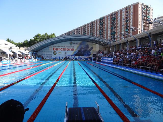 CN Sant Andreu pool ready for Mare Nostrum 2013