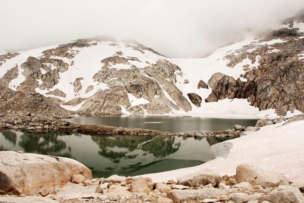 Reflection on Isolation Lake