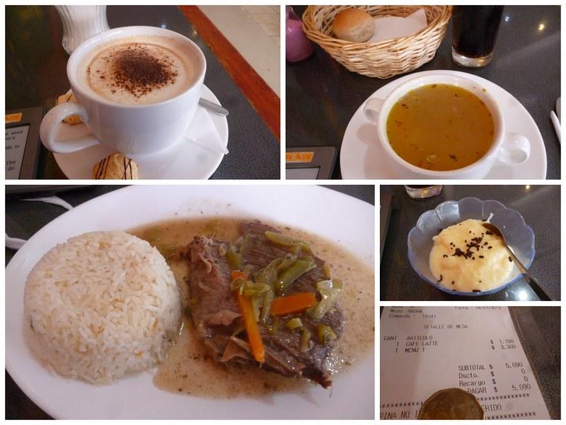 Lunch set in La Serena