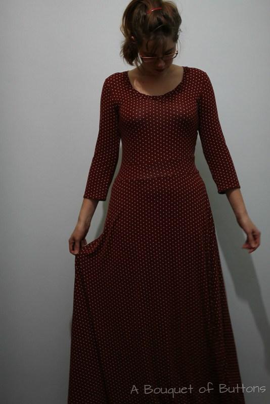 renfrew, dress, jurk, maxi dress, sewaholic