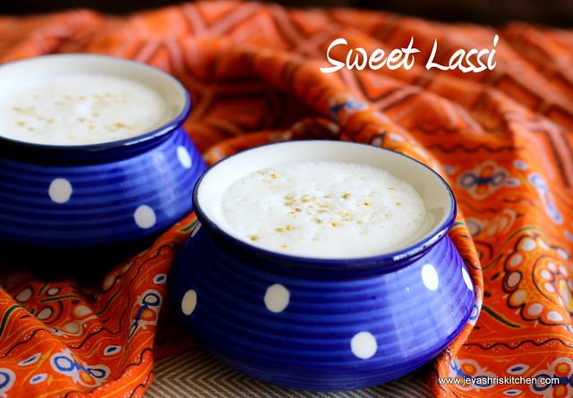 Sweet-lassi
