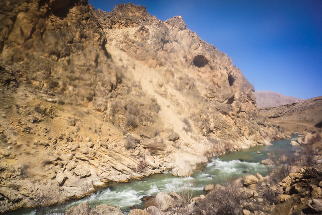 Rapids and mountains on the Karun