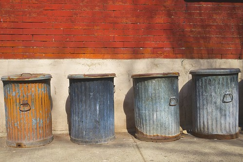 Once upon a time, *all* garbage cans looked like these
