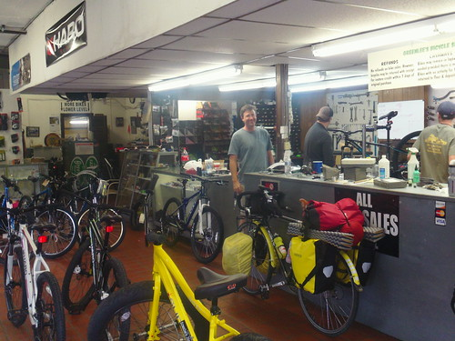 Greenlees bicycle shop