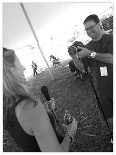 Jeff Cutler @jeffcutler Backpack Journalism at #NewportJazz