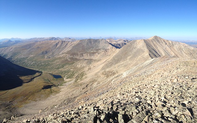 Picture from Mt. Cameron, Colorado