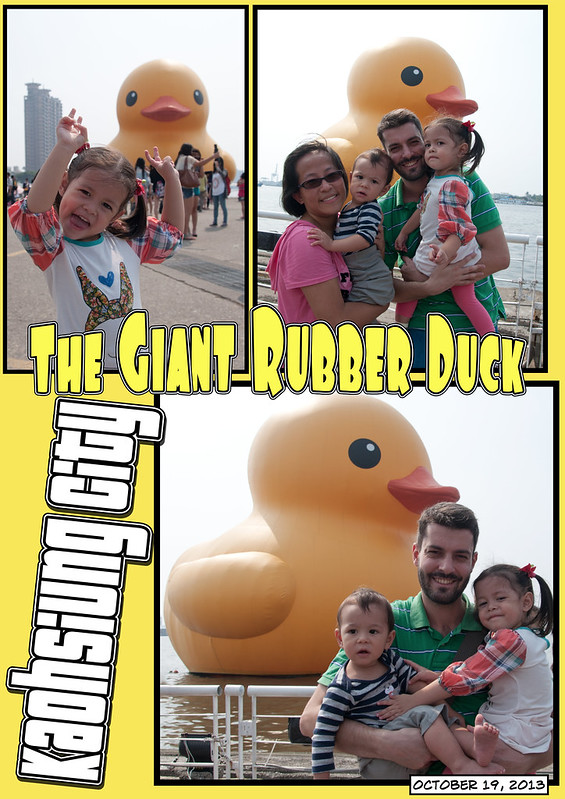Giant Rubber Duck Collage