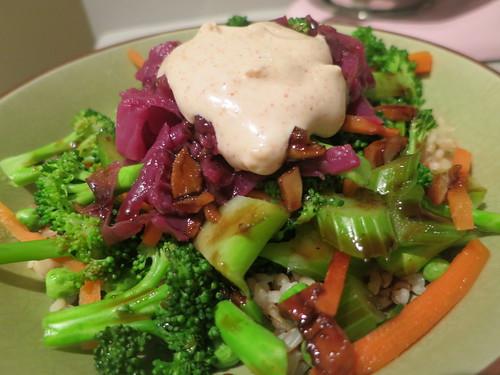 Cactus Club's teriyaki rice bowl
