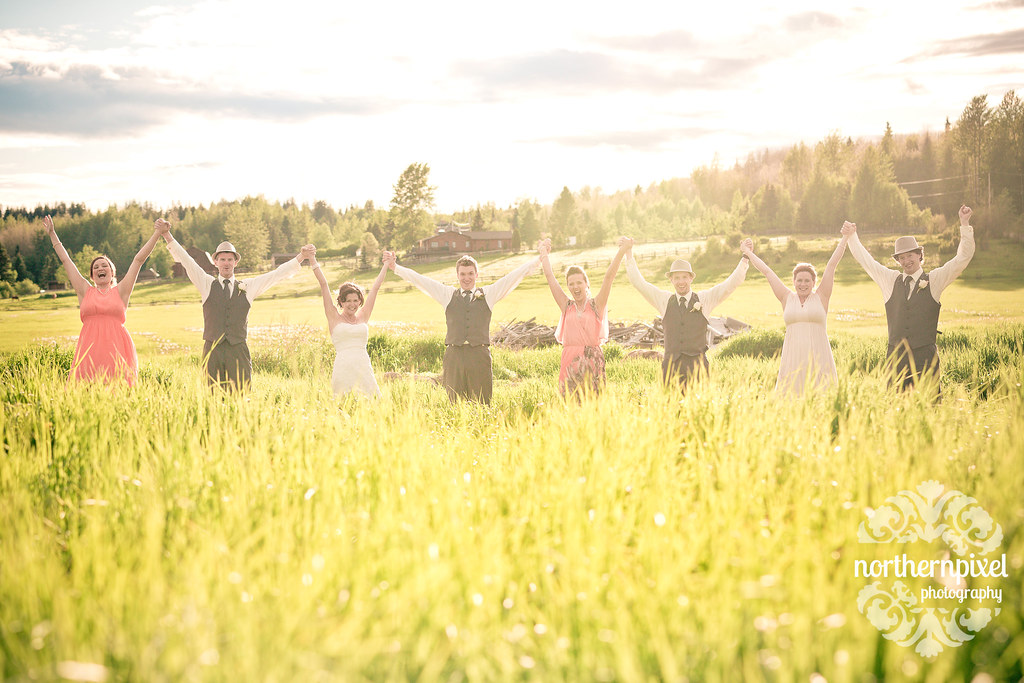 Bridal Party - Prince George BC Wedding