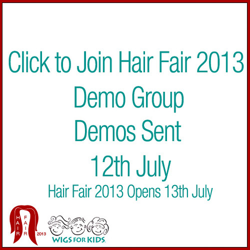 Hair Fair 2013 Demo Group