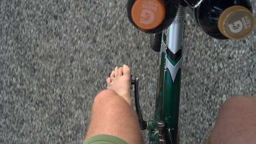 on a barefoot ride by under the skies of arkansas