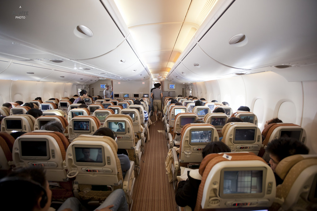 The Rear Economy Class Cabin