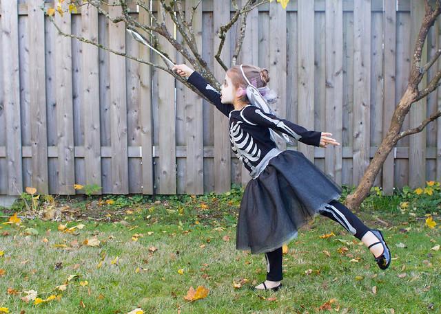 skeleton fairy costume