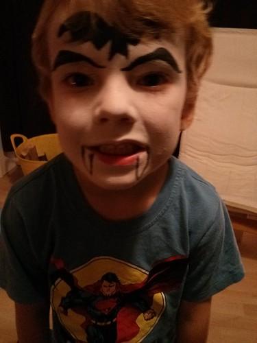 Freaky bat/vampire boy