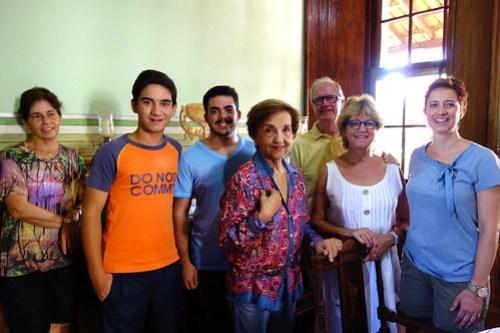 Friendly family in Patrocinio were we had breakfast