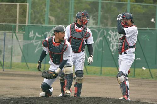 朝倉選手、雄太選手、大野選手