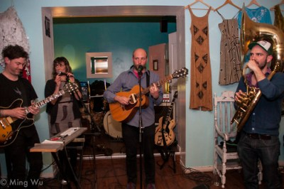 Michael Feuerstack @ Raw Sugar Cafe