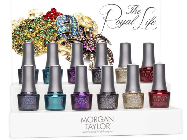 morgan taylor the royal life holiday collection 2013