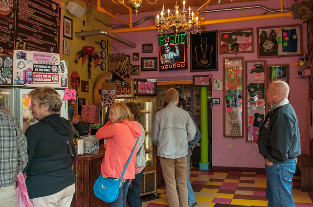 Voodoo Doughnut things to do in portland