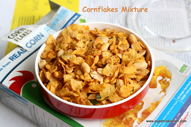 Corn-flakes mixture