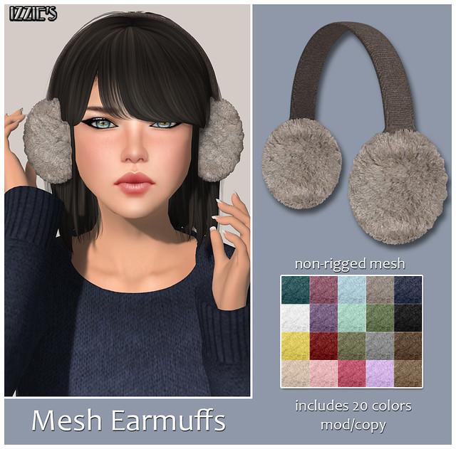 Mesh Earmuffs