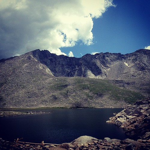 Mt Elbert and Summit Lake by @MySoDotCom